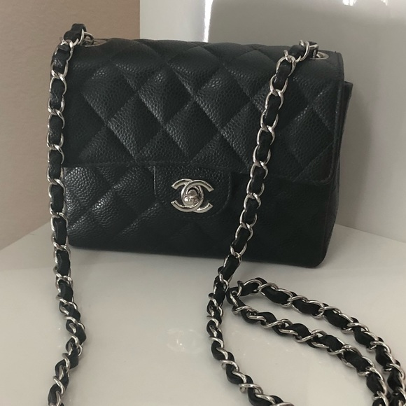 9ed01f181a27cf CHANEL Bags | Sold Auth Timeless Caviar Mini Crossbody | Poshmark